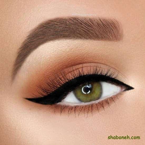 آرایش چشم دخترانه برای بیرون