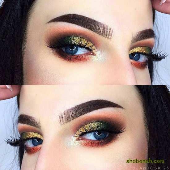 زیباترین مدل خط چشم دخترانه