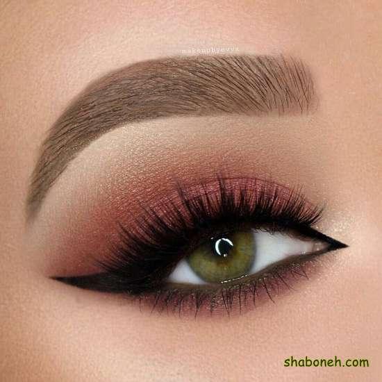 آرایش چشم ساده اینستاگرام