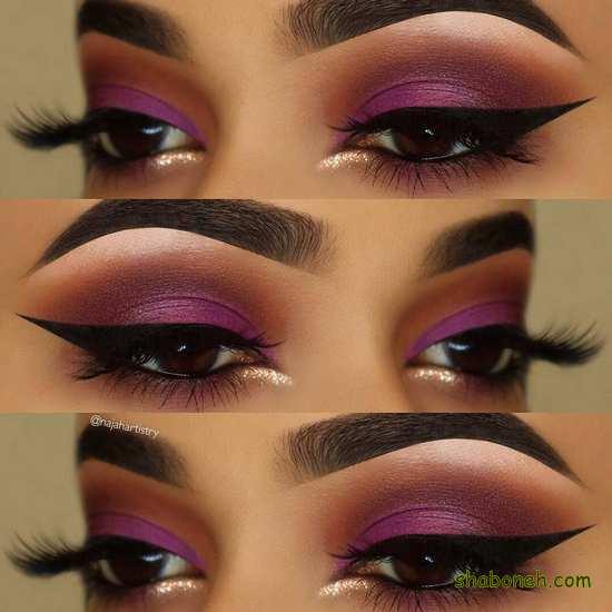 مدل آرایشی چشم زنانه