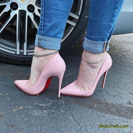 کفش مجلسی زنانه شیک پاشنه دار