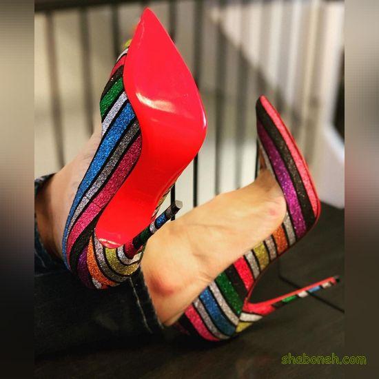 کفش مجلسی دخترانه جدید اینستاگرام