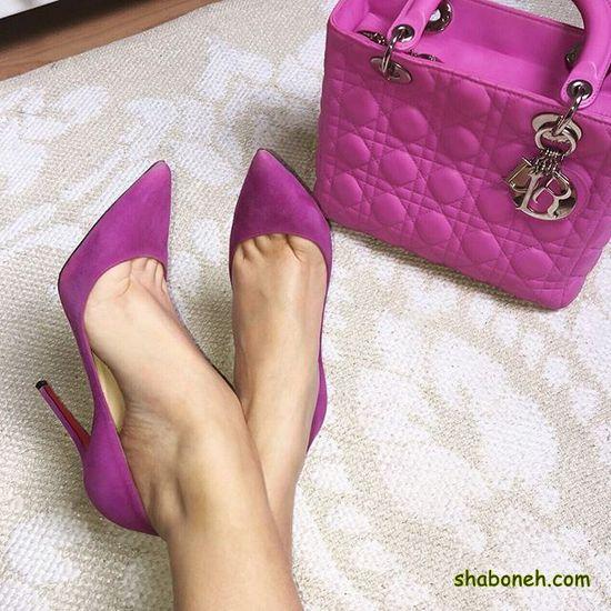 کفش مجلسی دخترانه جدید در اینستاگرام