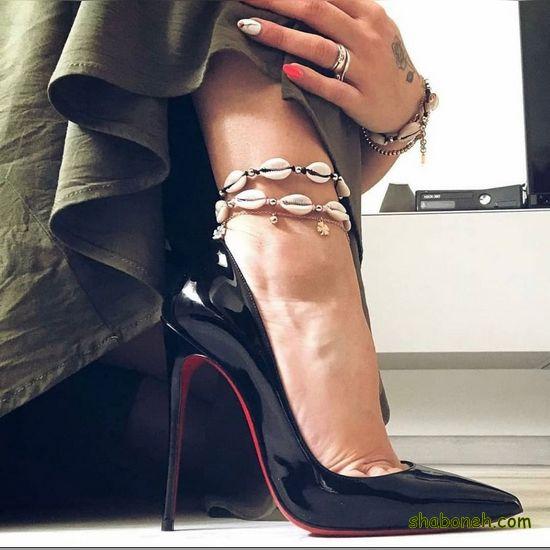 کفش مجلسی دخترانه جدید مشکی