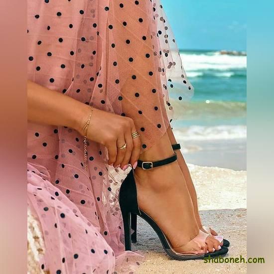 مدل کفش مجلسی پاشنه دار 99