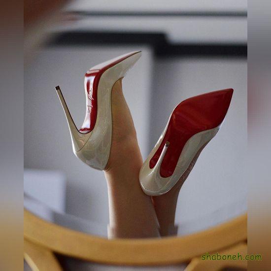 کفش مجلسی پاشنه بلند عروس