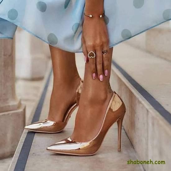 کفش مجلسی زنانه دخترانه لاکچری و خفن