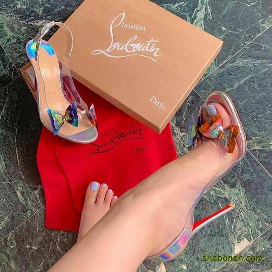 کفش مجلسی پاشنه بلند دخترانه