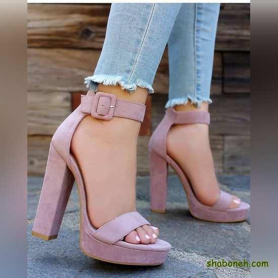 کفش مجلسی پاشنه بلند جدید