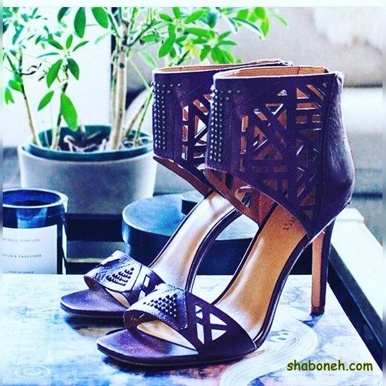 کفش پاشنه بلند مجلسی دخترانه شیک