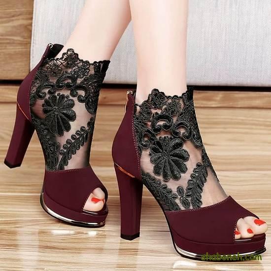 مدل کفشهای پاشنه بلند جدید
