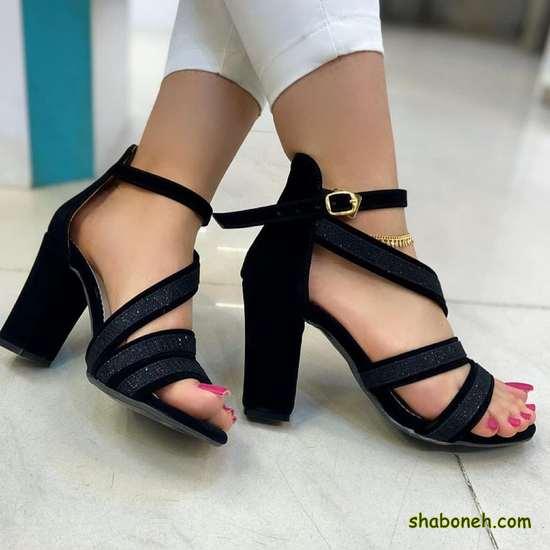 عکس از کفش پاشنه بلند دخترانه