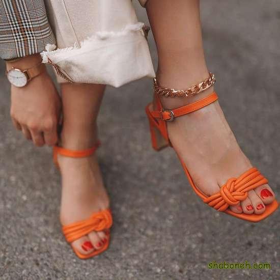 عکس کفش پاشنه بلند دخترانه جدید