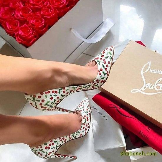 عکس کفش پاشنه بلند دخترانه شیک