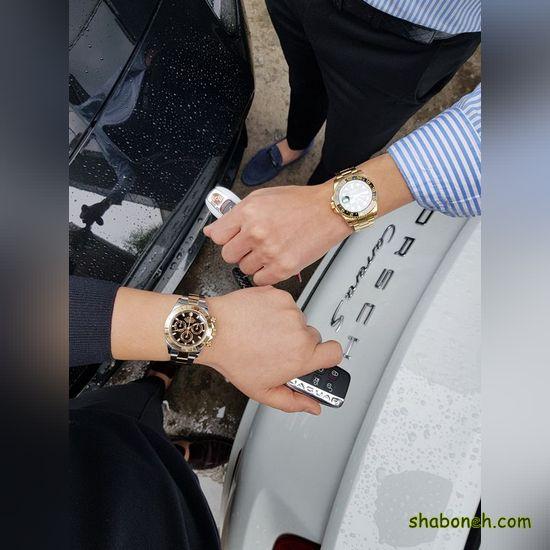مدل ساعت مچی ست زنانه و مردانه