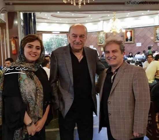 بیوگرافی خسرو خسروشاهی دوبلور و همسرش منصوره کاتبی + فرزندانش