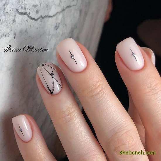 طراحی ناخن زیبا و جدید