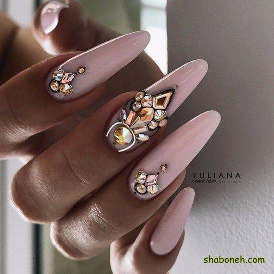 طراحی و دیزاین ناخن جدید