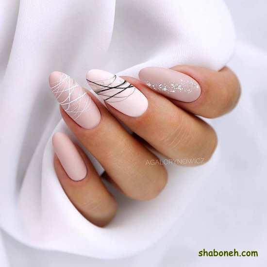 عکس از طراحی ناخن عروس خوشگل