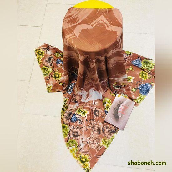 روسری مجلسی طرح دار ویژه تابستان