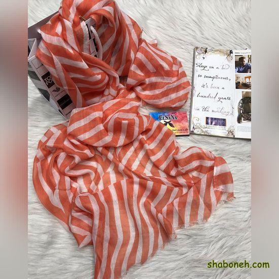انواع روسری نخی قواره بزرگ تابستانه