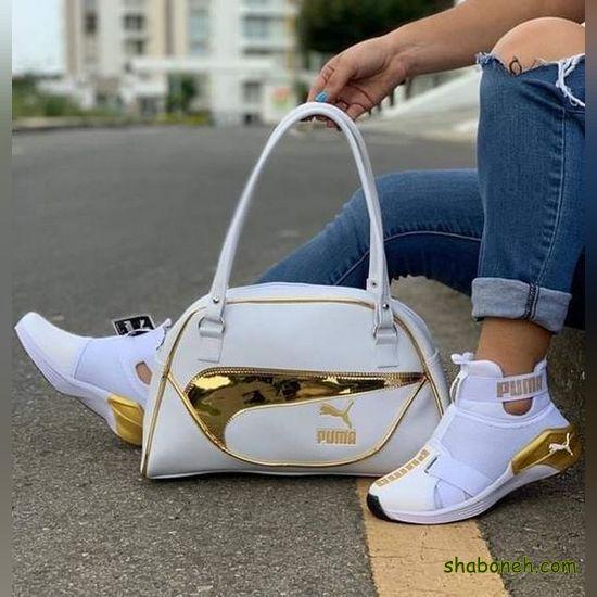 ست کیف و کفش دانشجویی شیک