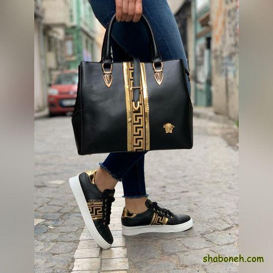 کیف و کفش اسپرت دخترانه برای مدرسه