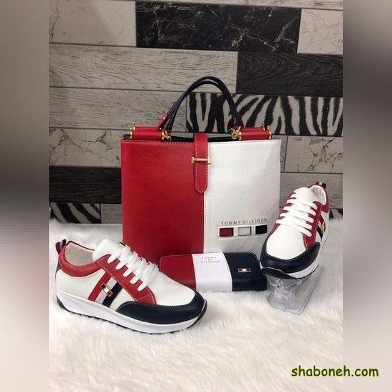 ست کیف و کفش دانشجویی دخترانه