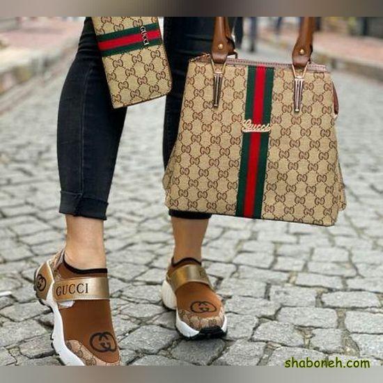 خرید کیف و کفش اسپرت دخترانه