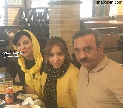 بیوگرافی علی اوسیوند بازیگر و همسرش حمیرا ریاضی و دخترش یاسمین