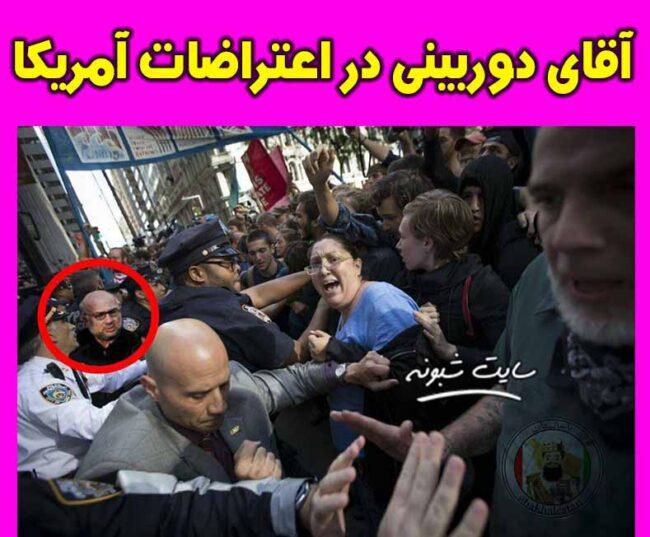 آقای دوربینی در اعتراضات آمریکا +عکس و جزئیات