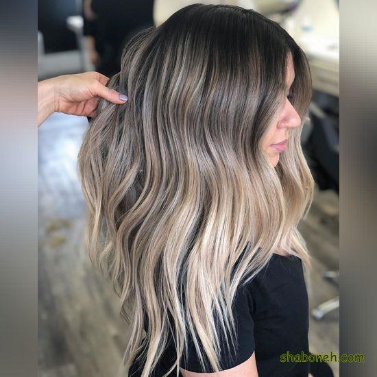 رنگ مو جدید روشن