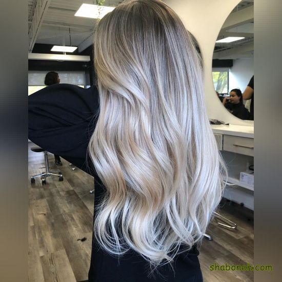 جدیدترین مدل رنگ مو