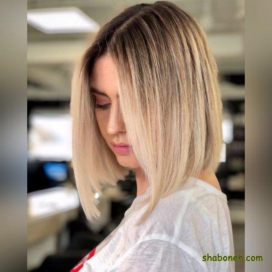 مدل رنگ مو تیره دخترانه