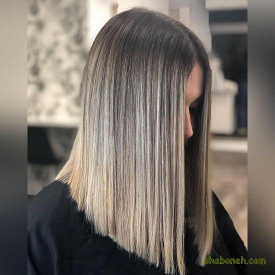 مدل رنگ مو تیره و روشن