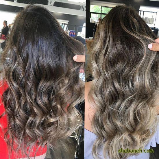دانلود عکس مدل رنگ مو جدید