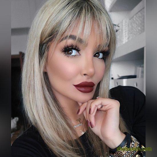مدل رنگ مو جدید بدون دکلره