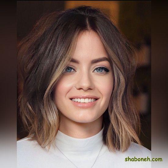 مدل رنگ مو جدید زنانه