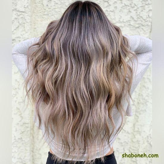 رنگ مو جدید بدون دکلره