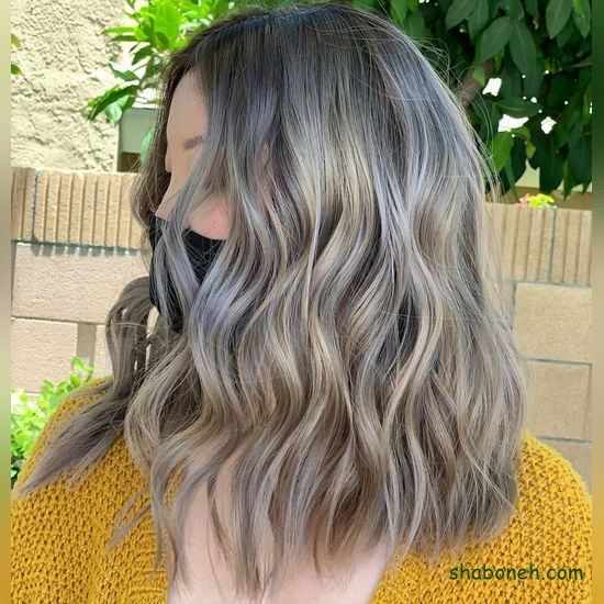 رنگ مو جدید دخترانه