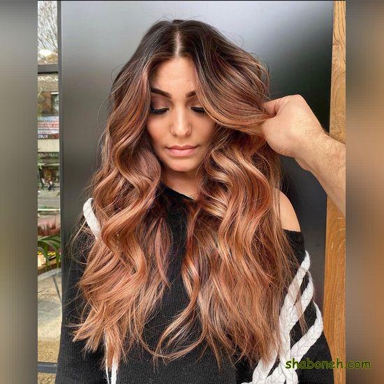 عکس های مدل رنگ مو جدید