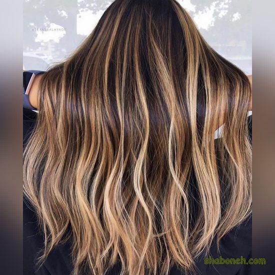 ترکیب رنگ مو دودی نقره ای