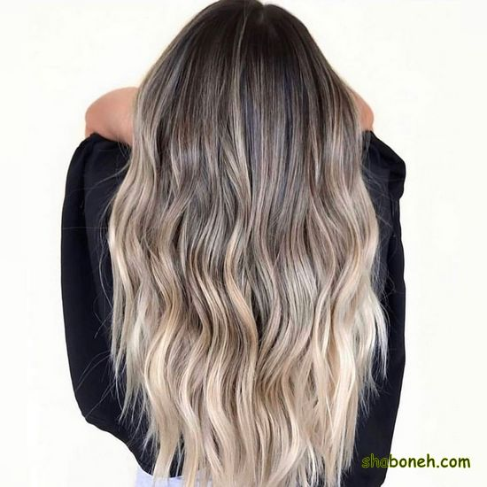 مدل رنگ مو تیره جدید