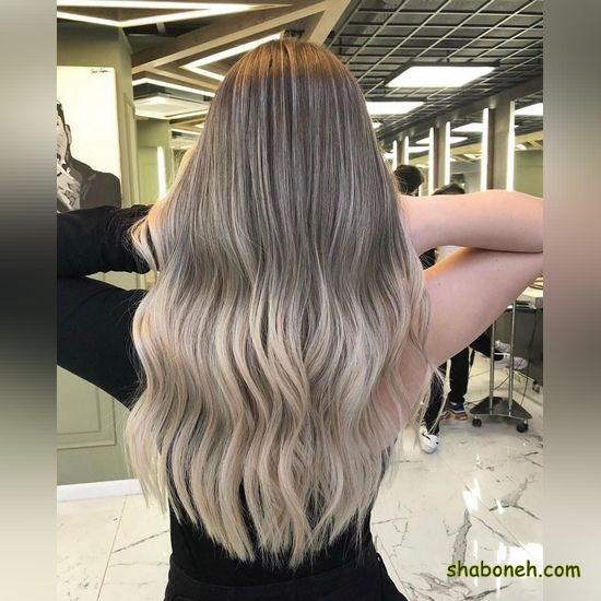 جدیدترین مدل رنگ مو سال ۹۹