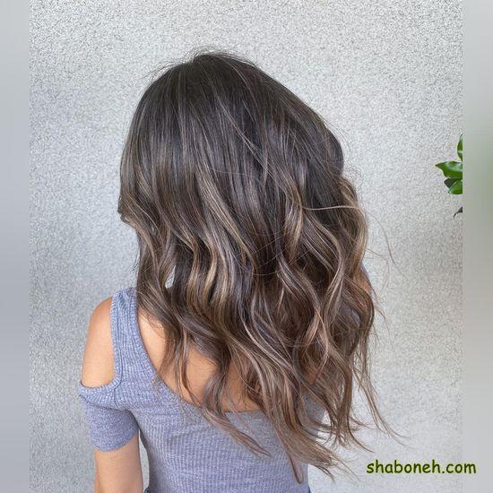 ترکیب رنگ موی کنفی بدون دکلره