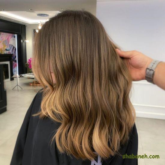 مدل رنگ مو هایلایت جدید