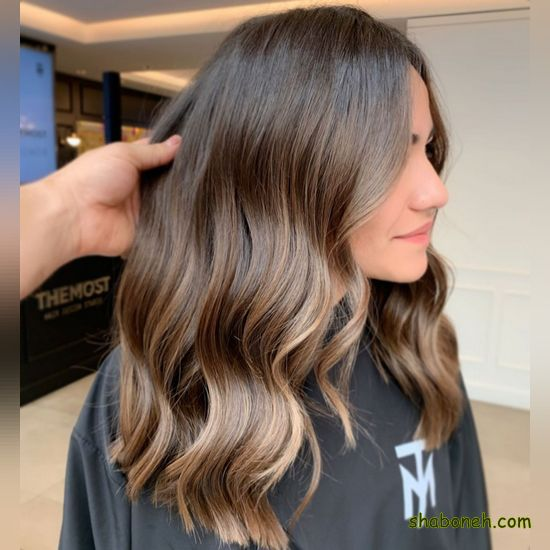 مدل رنگ موهای جدید دخترانه