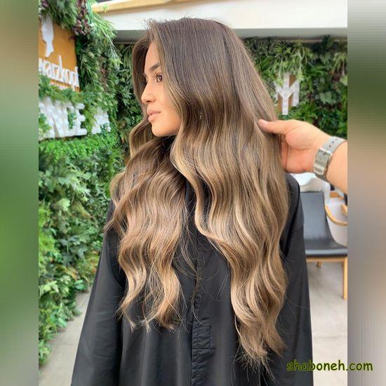 مدل رنگ موهای جدید آمبره
