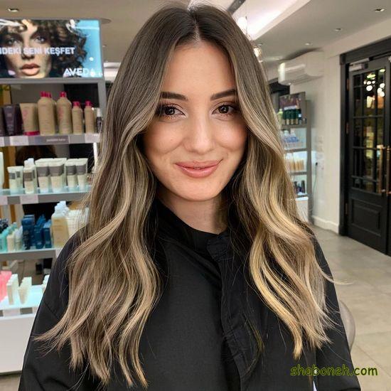 رنگ مو جدید 2020
