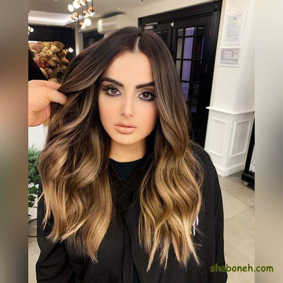 عکس مدل رنگ موی جدید